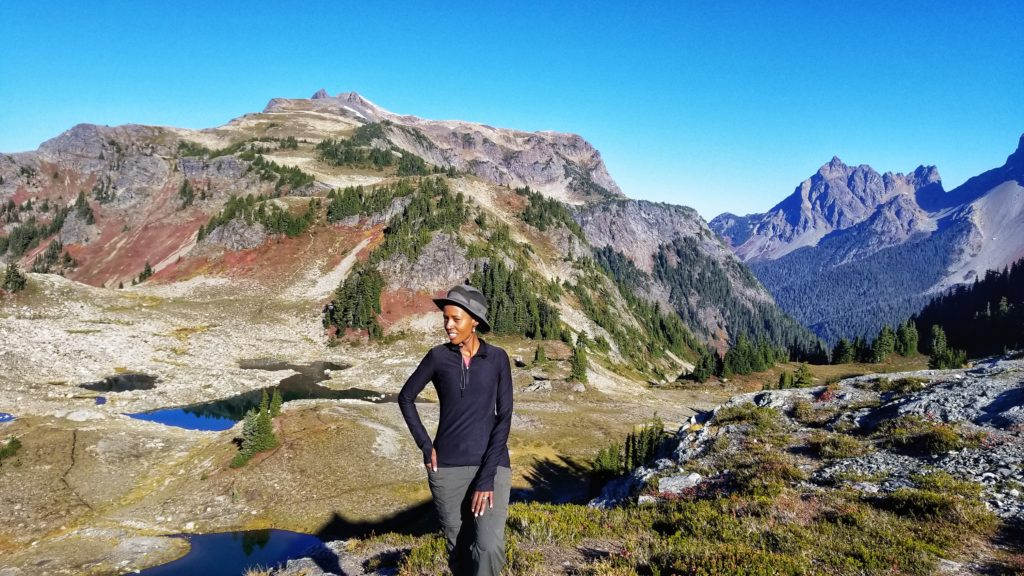 Hiking Yellow Aster Butte