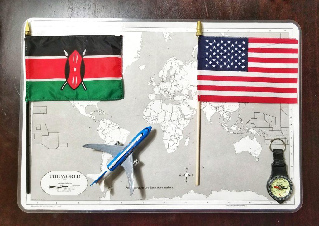 travelling to Kenya as an American